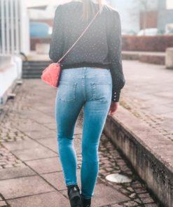 Kate Skinny Jeans - Mid Blue