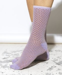 Dina Small Dots Sock Aleutian