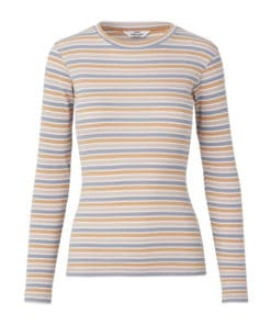 Tuba 2x2 Softy Stripe Top Multi Beige