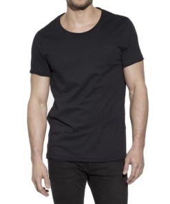 Crew Neck Relaxed Black