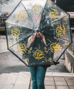 Cody Transparent Umbrella Forever Blue