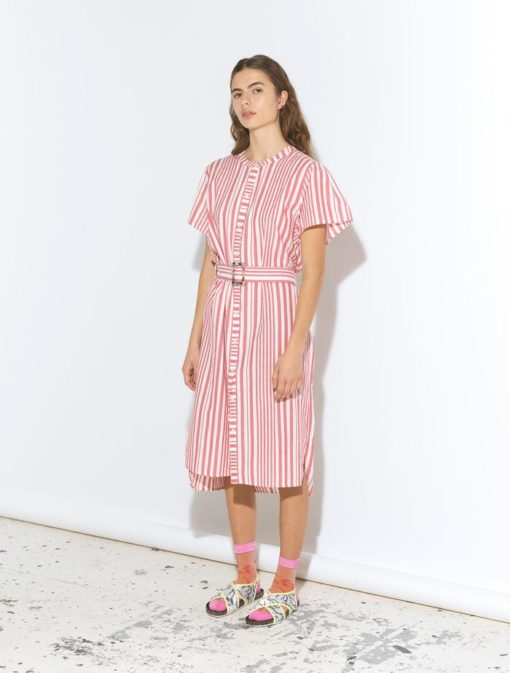 Striped Casey Long Fruit Pink