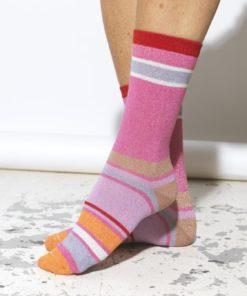 Rosella Dalea Sock Fuchsia Pink