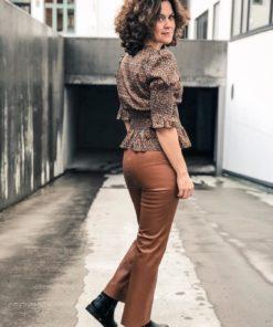Kaylee PU Kickflare Pant