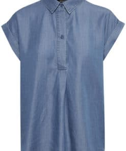 Dariana Shirt Medium Blue Denim