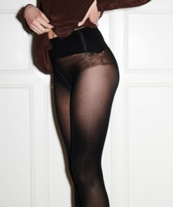 Erika Seamless Black 50 Denier