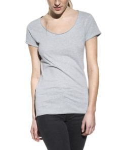 Crew-Neck Relaxed Grey Melange