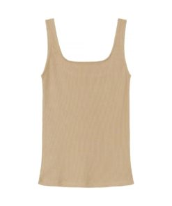 Basics by Biderman Tank Beige