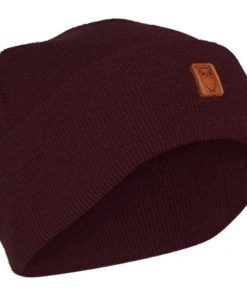 LEAF Organic Wool Beanie Fig