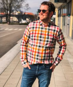 LARCH Checked Shirt Total Eclipse