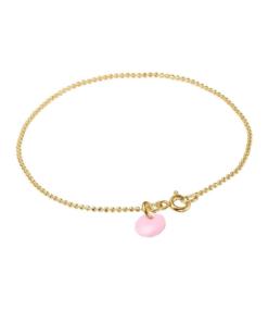 Bracelet Ball Chain Flamingo
