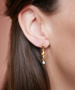 Earring Tulip Shell Gold