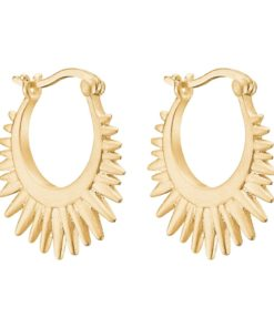 Earring Sunrays Gold