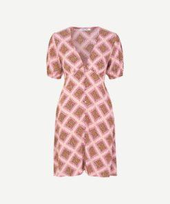 Petunia Short Dress Foulard
