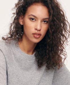Boston O-Neck Sweater Grey Mel