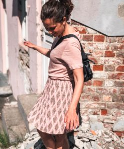 Lia Short Skirt Foulard