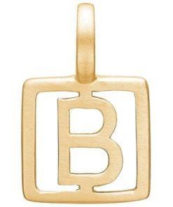 Enamel Letter B