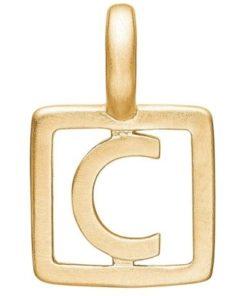 Enamel Letter C