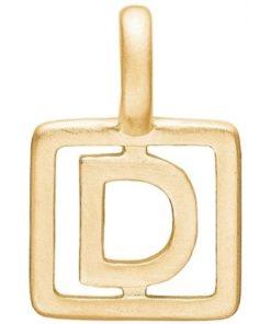 Enamel Letter D