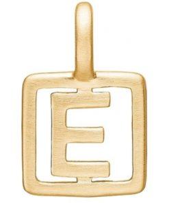 Enamel Letter E