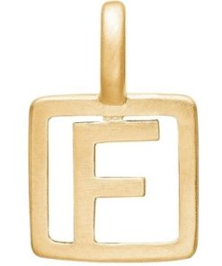 Enamel Letter F