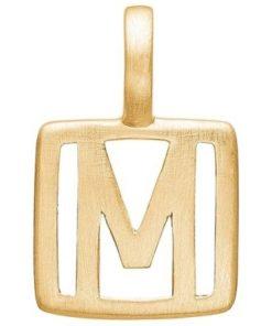 Enamel Letter M
