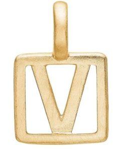 Enamel Letter V