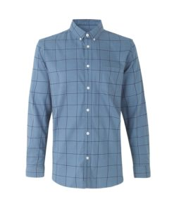 Liam BA 11377 Shirt Blue Mirage Check
