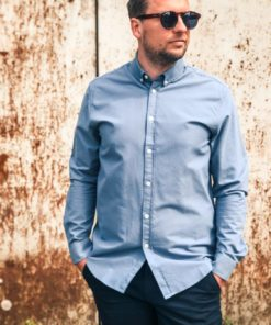 Liam BX 11389 Shirt Blue Mirage