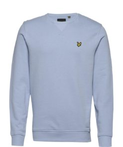 Crew Neck Sweatshirt Pool Blue