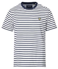 Breton Stripe T-Shirt Navy/White