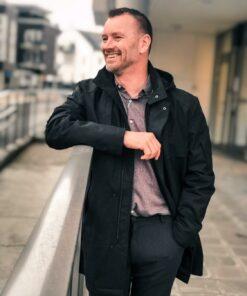 Rizzo Jacket Charcoal Melange
