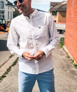 Cotton Linen Shirt White