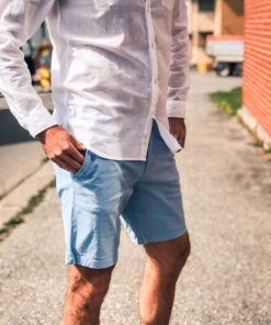 Chino Shorts Pool Blue