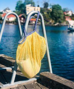 Reya Market Bag Soft Yellow