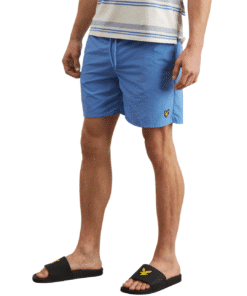 Plain Swim Shorts Cornflower Blue