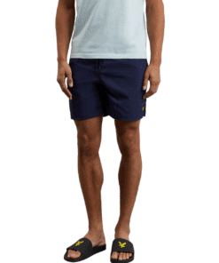 Plain Swim Shorts Navy