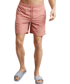 Plain Swim Shorts Pink Shadow