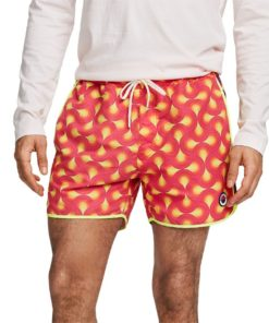 Colourful Printed Swim Shorts