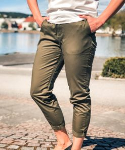 Regular Fit Chino Army Green