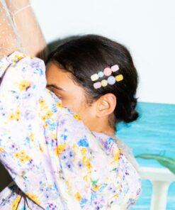 Marley Hairclip Multi Col