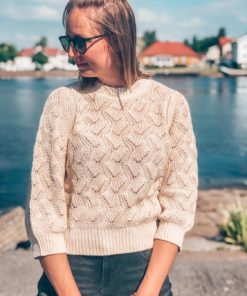 Pointa Pullover Whisper White