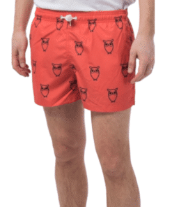 Swim Shorts Owl Coral