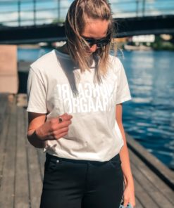 Trenda P Single Organic T-Shirt Ecru White