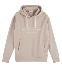 Scotch & Soda Hooded Sweater Beige