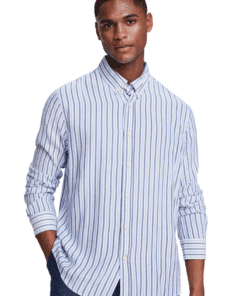 Lightweight Long Sleeve Shirt Stripes
