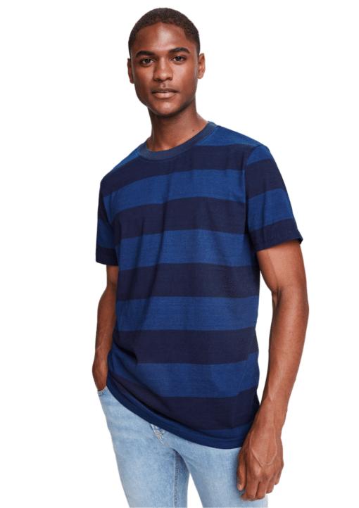 Ams Blauw Indigo Classic T-Shirt Blue