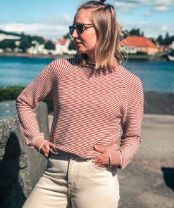Zande t-n Stripe Sweater Picante