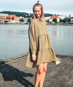 Margo Shirt Dress Air Khaki