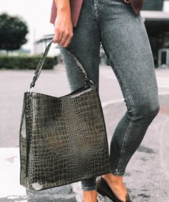 Solid Kanya Bag Green
